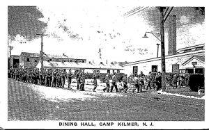 New Jersey Camp Kilmer Dining Hall