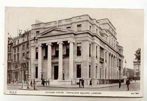 Real Photo Canada House, Trafalgar Squar London England, W&K Co 169
