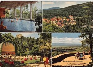 GG14263 Thermalkurort Badenweiler suedl. Schwarzwald Konzert Schwimmbad Kirche