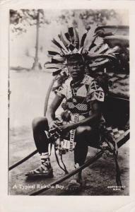 RP, A Typical Ricksha Boy, Johannesburg, South Africa, 1920-1940s