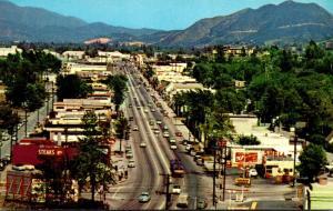 California Los Angeles Ventura Boulevard Studio City 1958