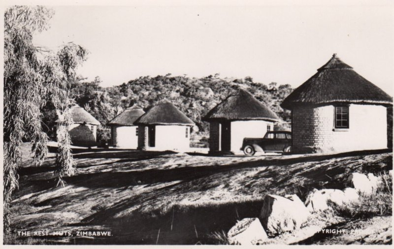 RP: The Rest Huts , ZIMBABWE , 1930s