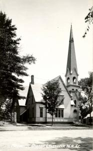 NH - Lancaster. Methodist Church.   *RPPC