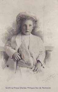 RP, S. A. R. Le Prince Charles Philippe Duc De Nemours, 1920-1940s