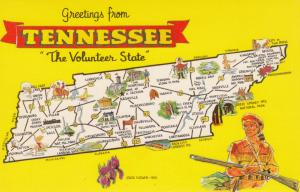 Map , Tennessee , 50-60s #3