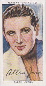 Players Cigarette Cards Film Stars Third Series No 19 Allan Jones