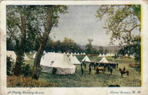 Military Tents,Camp Sussex,New Brunswick,Canada,00-10s