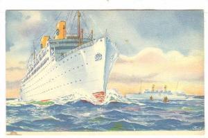 Swedish American Lines Ocean Liner KUNGSHOLM-GRIPSHOLM, Sweden , 30-40s