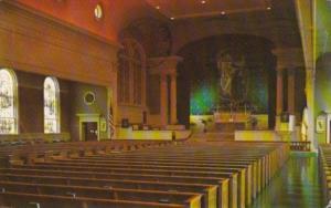 Interior View Christ Chapel Gettysburg College Gettysburg Pennsylvania 1959