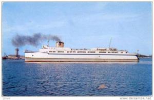 Steamer - Passenger Ferry  Princess Anne  near Norfolk Virginia