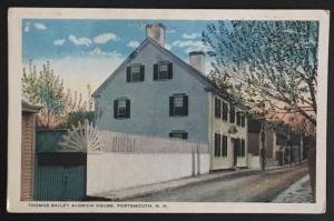 Thomas Bailey Aldrich House Portsmouth NH C.T. American Art