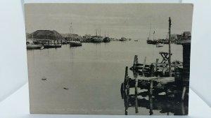 The Harbour Glace Bay Cape Breton Canada Antique Postcard
