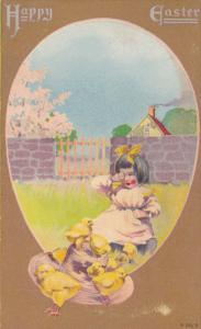 Easter ; Girl & Chicks, 00-10s