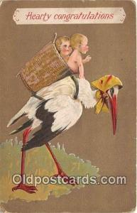 Baby Birth Vintage Collectable Postcards 1911