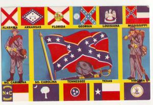 P831 1970 flags of the confederate states of america