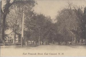 EAST CONCORD NH - East Penacook Street 1910s view
