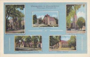 Churches , COLLINGWOOD , Ontario , Canada 30-40s