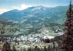 Switzerland Lenzerheide Village General view Panorama