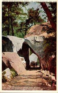 California Yosemite Valley Arched Rock