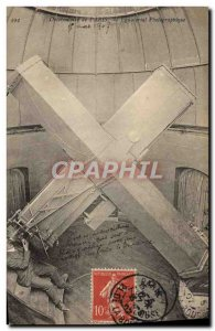 Old Postcard Paris Observatory photographic Equatorial Photography Astronomy
