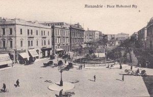ALEXANDRIE, Egypt, 1900-1910's; Place Mohamed Aly