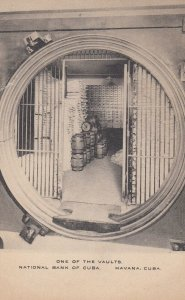 HABANA , Cuba , 1900-10s ; National Bank of Cuba ; Vault