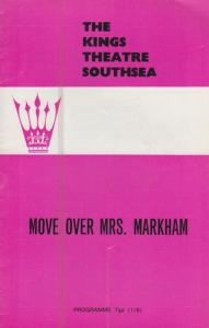 Move Mrs Markham Are You Being Served Comedy Southsea Theatre Programme