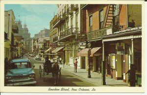 New Orleans,LA., Bourbon Street Scene