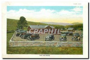 Modern Postcard The Log House Fort Ticonderoga Sally Port and West Demilune