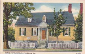 Virginia Fredericksburg Rising Sun Tavern Curteich