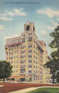Florida Lakeland New Florida Hotel 1943 Curteich