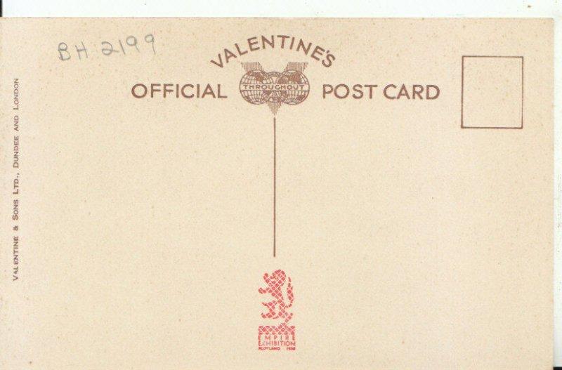 1938 Empire Exhibition Postcard - The Clachan - Scotland - Ref 16801A
