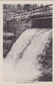 New York Sant Josephs Falls At Sant Josephs Albertype