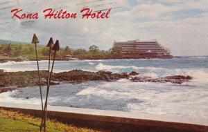 Hawaii Kailua Kona Hilton Inn 1971
