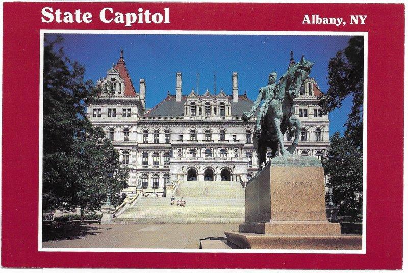 US Unused. Albany, New York. General Sheridan.  Nice.