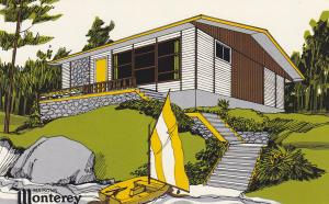 ADV: Maisons Monterey Homes, Picardi MK I,  Canada, 40-60s (5)