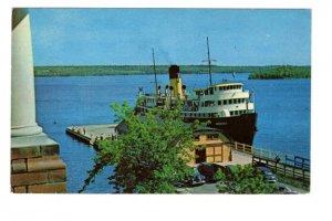 SS Norcoma, Manitowaning, Manitoba Island, Ontario