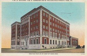 YORK , Pennsylvania , 1910s ; Y.M.C.A.