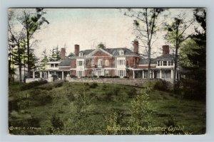 Cornish NH, Harlakenden - Summer Capital, Vintage New Hampshire c1910 Postcard