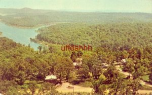 WEST'S LAKEBREEZE RESORT, LAKE NORFORK, MOUNTAIN, AR. 1965
