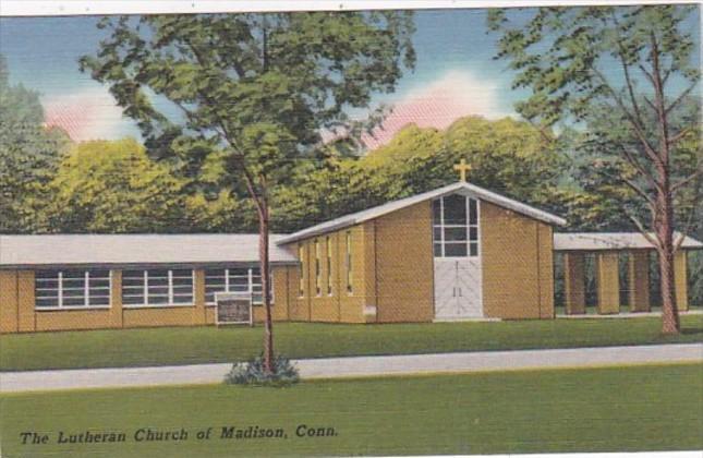 Connecticut Madison Lutheran Church 1962