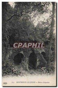 Postcard Old Montreiux the Young Aqueduct Ruins