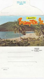 Brampton Is. , Queensland , Australia , 50-70s ; Folderr Postcard