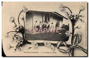 Fantasy - Children - Colony Edouard - The Toilet of the Morning - flowers Old...