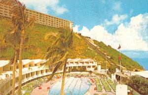 Las Croabas Puerto Rico view of El Conquistador Hotel & Club vintage pc ZA440640