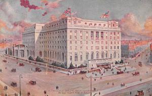 Midland Adelphi Hotel, Liverpool, England, Early Postcard, Unused