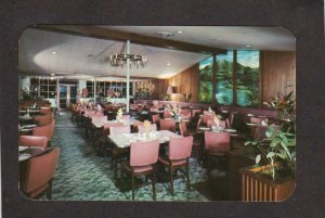 CO Ruths Oven Restaurant Ruth's Colorado Springs Postcard Interior View