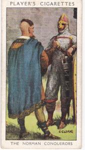 Cigarette Card Player's Dandies No 5 The Norman Conquerors