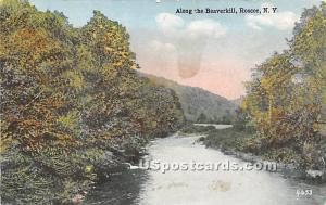 Along the Beaverkill Roscoe NY 1923