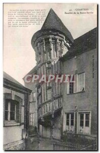 Chartres Old Postcard Queen's Staircase Berthe